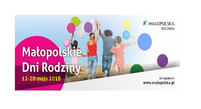 Małopolskie Dni Rodziny od soboty w całym regionie