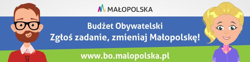 Rozpoczęło się zgłaszanie zadań do 3. edycji Budżetu Obywatelskiego Województwa Małopolskiego!